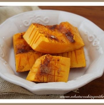 Brown Sugar Banana Squash by whatscookingwithruthie.com