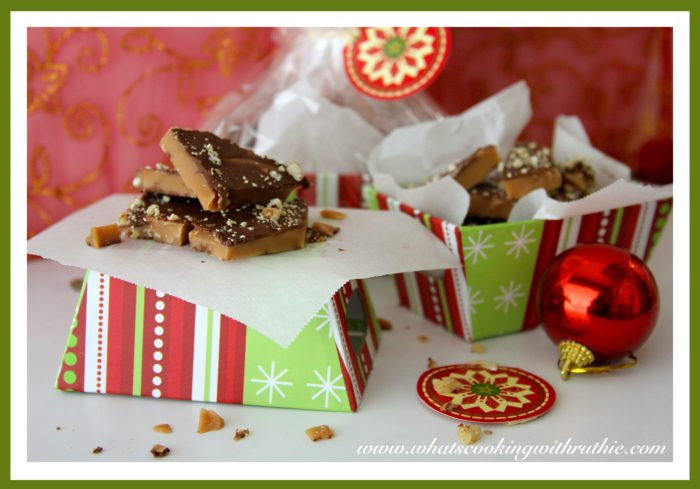 Gram's English Toffee by whatscookingwithruthie.com