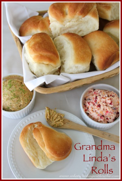 Grandma Linda's Rolls by whatscookingwithruthie.com