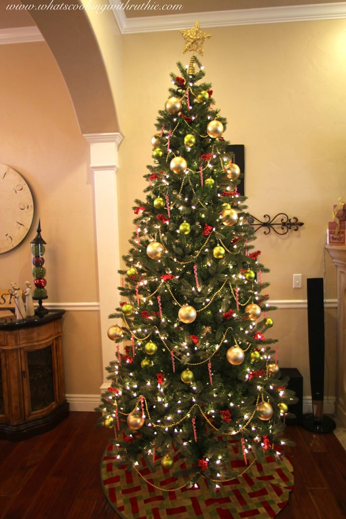 Pictures Of Decorated Christmas Tree