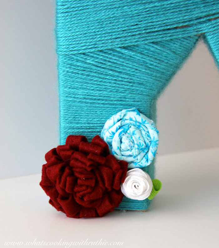 Yarn Letters Gift Idea by whatscookingwithruthie.com