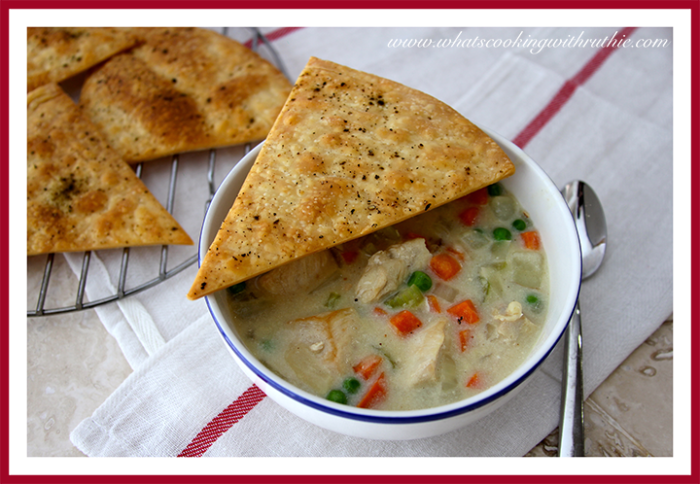 Chicken Pot Pie Soup - Cooking With Ruthie