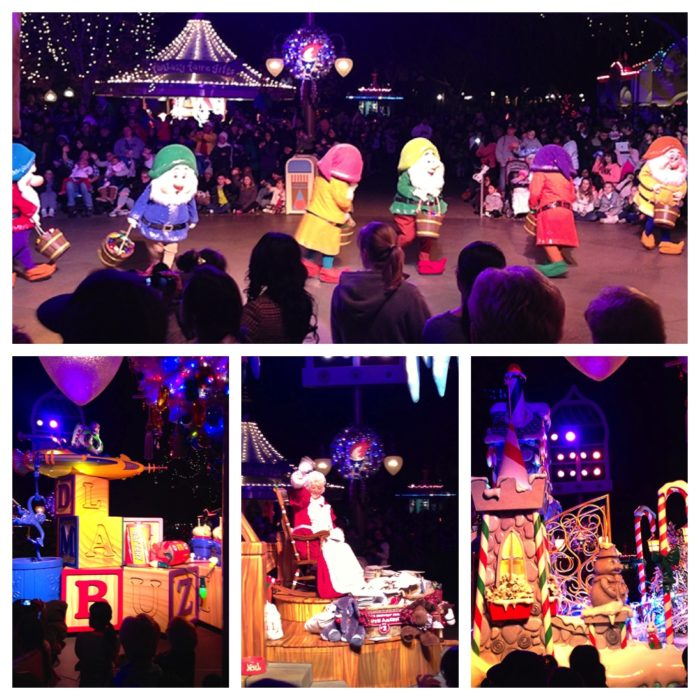 Disney Christmas Parade by whatscookingwithruthie.com