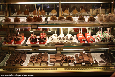 Disneyland's Chocolate Caramel Pretzel Rods bywhatscookingwithruthie.com