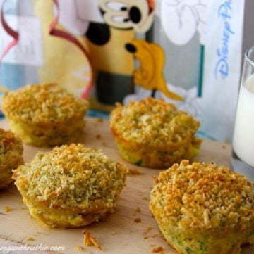 Disney's Mini Mac-and-Cheese by whatscookingwithruthie.com