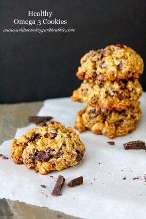 Healthy Omega 3 Cookies by whatscookingwithruthie.com