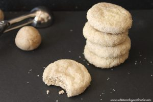 Irish Ginger Snaps by www.whatscookingwithruthie.com