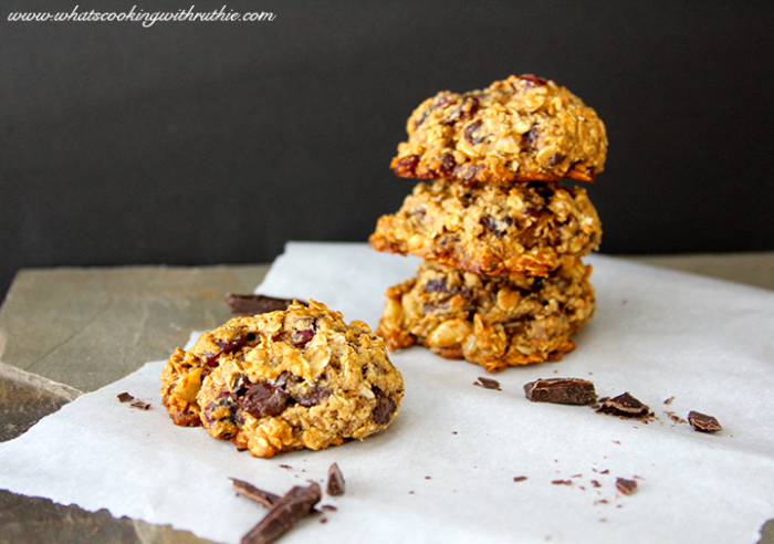 We're excited to share these Healthy Omega 3 Cookies Recipe with you today--our healthy omega cookies are a healthy treat! by cookingwithruthie.com