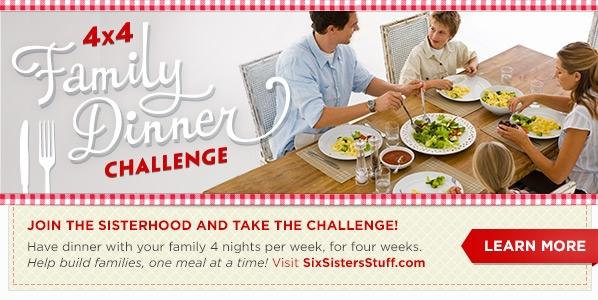 4X4 dinner challenge Six Sisters