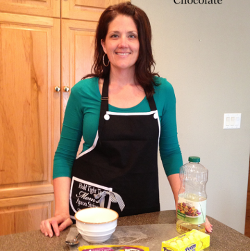 Kitchen Video Tip Series... how to melt and dip Chocolate by www.whatscookignwithruthie.com