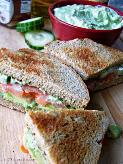 Pesto Avocado Sandwich