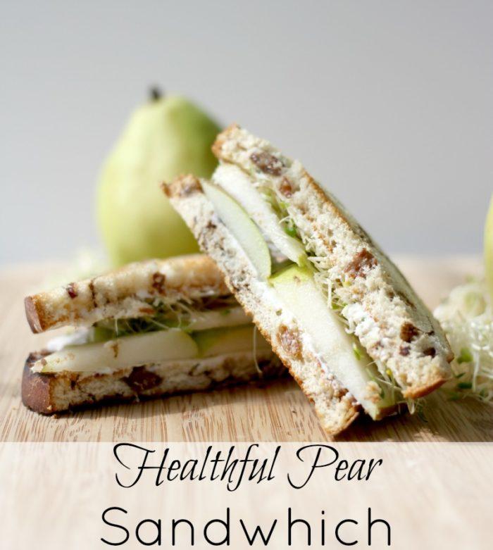 Heathful pear sandwich#14
