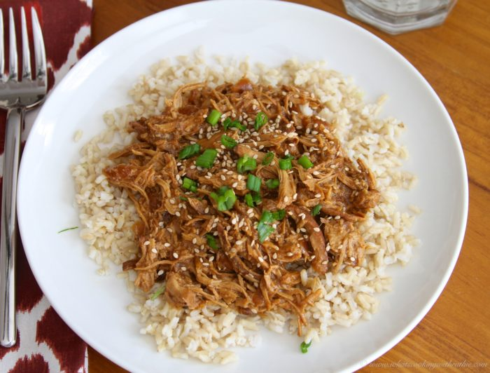 Slow Cooker Sesame Chicken by www.whatscookingwithruthie.com