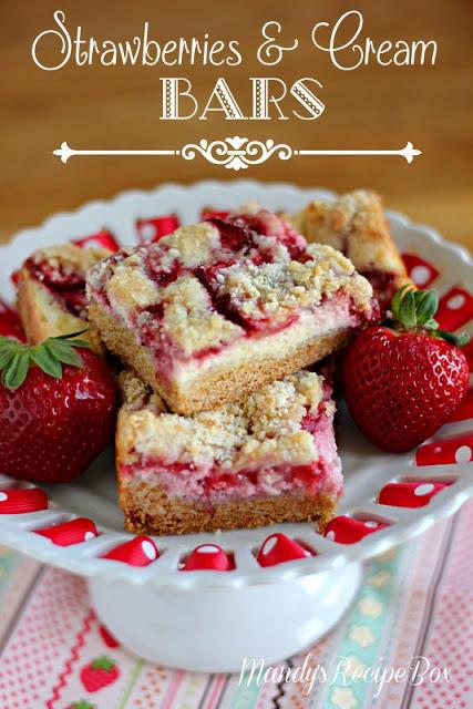 Strawberries & Cream Bars#15