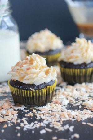 Toasted-Coconut-Caramel-Chocolate-Cupcakes#12