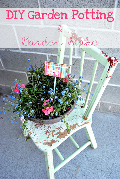 DIY-Garden-Potting-and-Garden-Stake#18