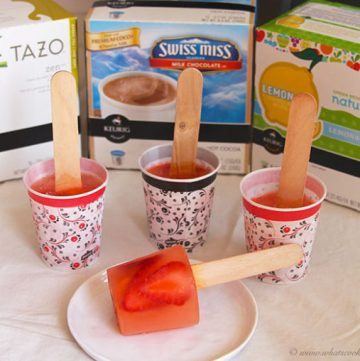 Strawberry Lemonade Pops by www.whatscookingwithruthie.com