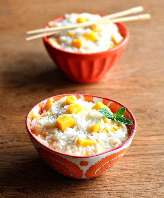Coconut & Mango Sweet Rice