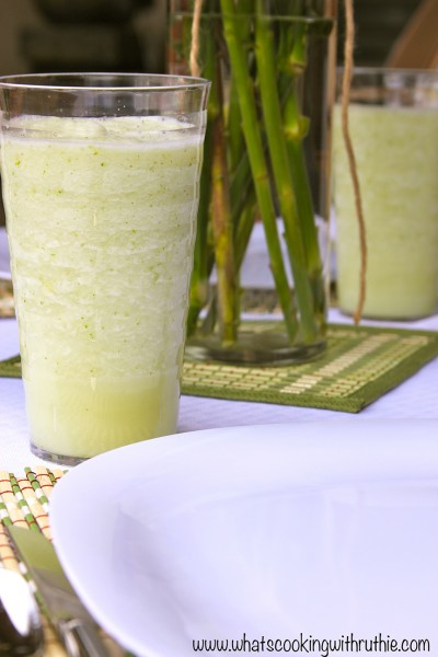 Summer Soiree Limeade by www.whatscookingwithruthie.com