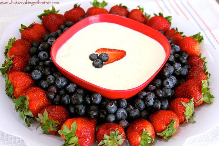 Red, White,and, Blueberries by www.whatscookingwithruthie.com