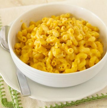 Slow Cooker Macaroni and Cheese by www.whatscookingwithruthie.com