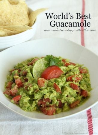 World's Best Guacamole by www.whatscookingwithruthie.com