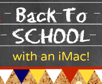 Back to School iMac Giveaway on www.whatscookingwithruthie.com