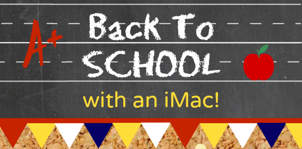 Back to School iMac Giveaway - Cooking With Ruthie