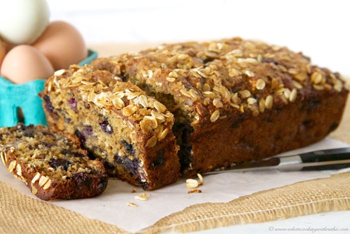 Blueberry Banana Oat Bread Cooking With Ruthie