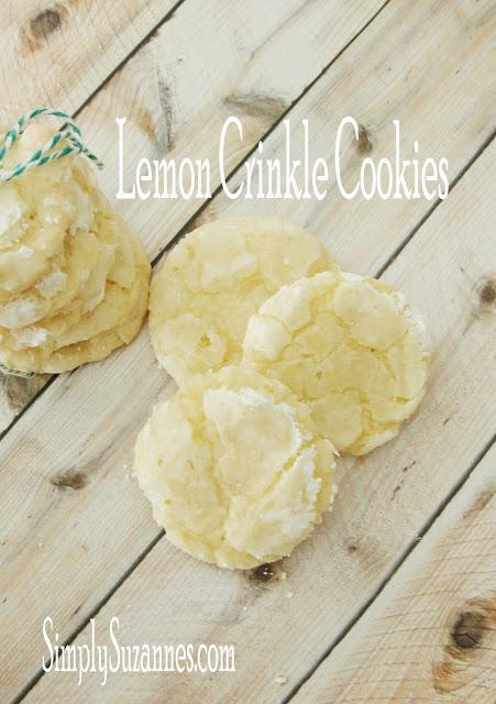 Lemon Crinkle Cookies#30