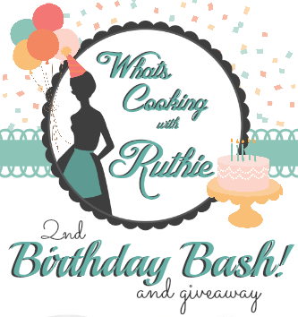Whats Cooking with Ruthie 2nd Birthday Bash Giveaway