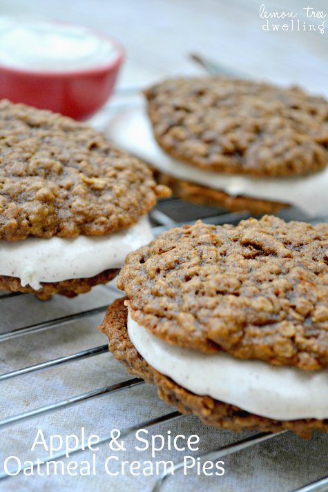 Apple & Spice Oatmeal Cream Pies#35