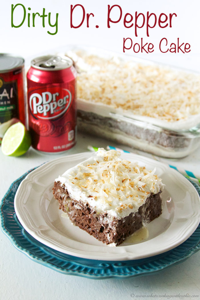 Recipe For Dr Pepper Poke Cake