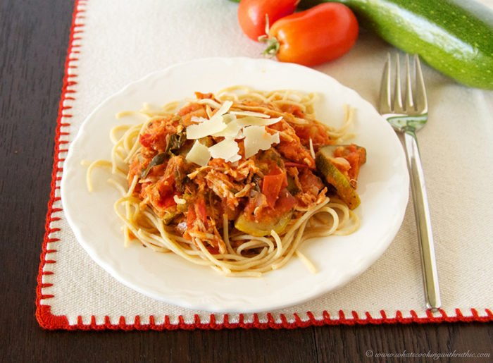 Culinary Arts Tomato Sauce by www.whatscookingwithruthie.com