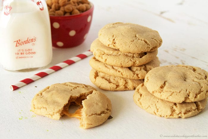 Caramel Apple Cider Cookies by www.whatscookingwithruthie.com