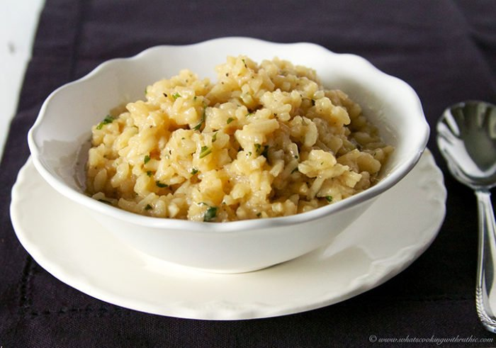 Creamy Risotto by www.whatscookingwithruthie.com