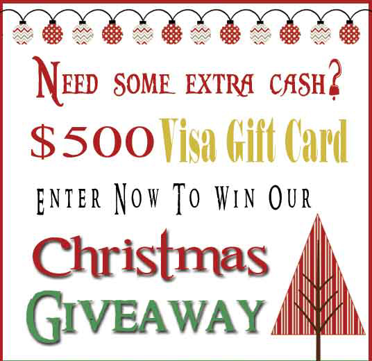 Christmas Giveaway on www.whatscookingwithriuthie.com