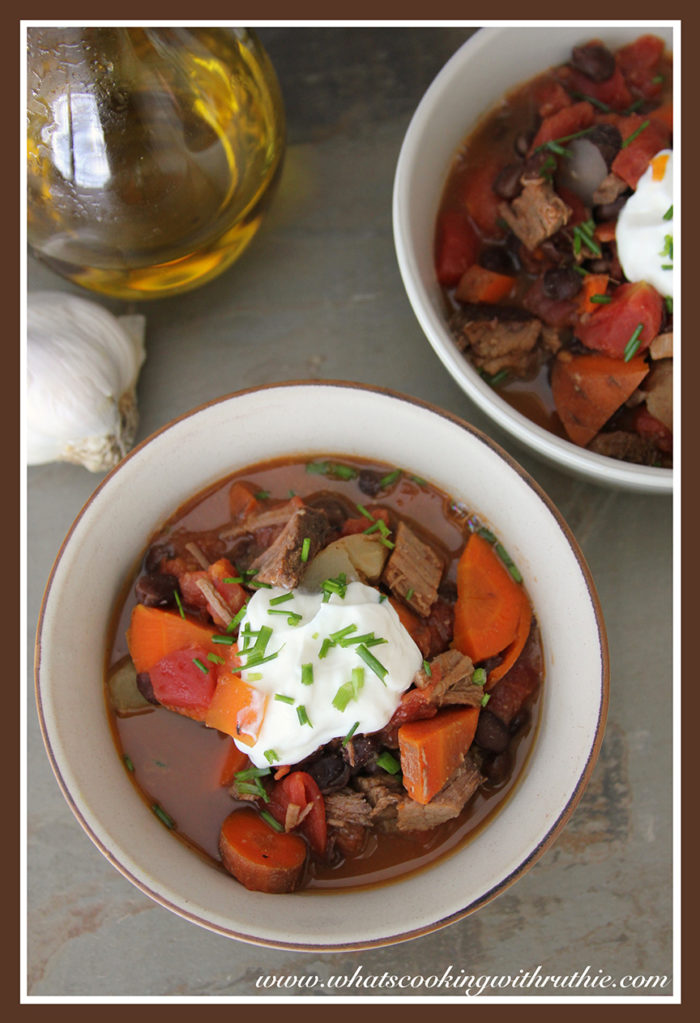 Pot Roast Chili by www.whatscookingwithruthie.com
