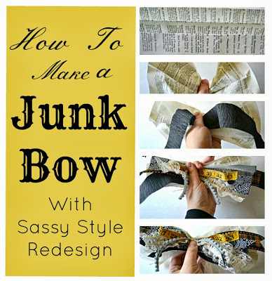 junk bow collage