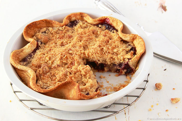 Delicious and Super Easy Cherry Pie by www.whatscookingwithruthie.com