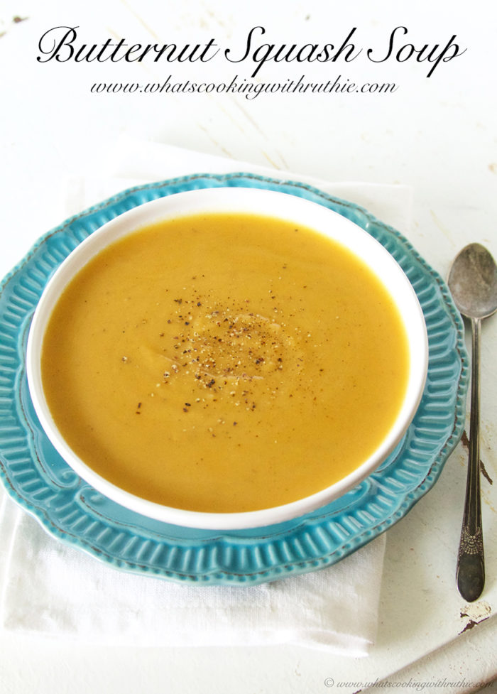... butternut squash soup recept yummly butternut squash soup with nutmeg