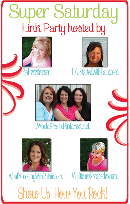 Super Saturday Link Party #1 on www.whatscookingwithruthie.com