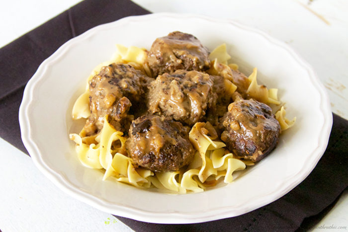Swedish Meatballs by www.whatscookingwithruthie.com