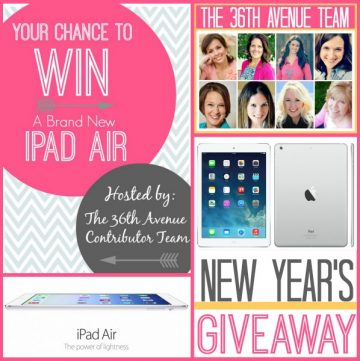 New Years Giveaway on www.whatscookingeithruthie.com