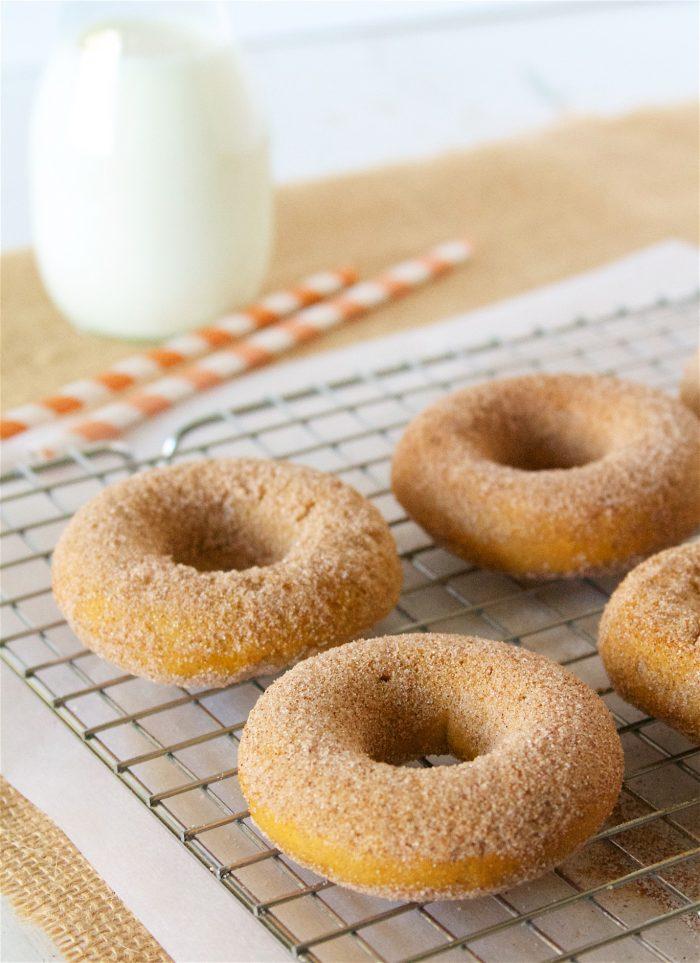 Skinny Pumpkin Donuts 3