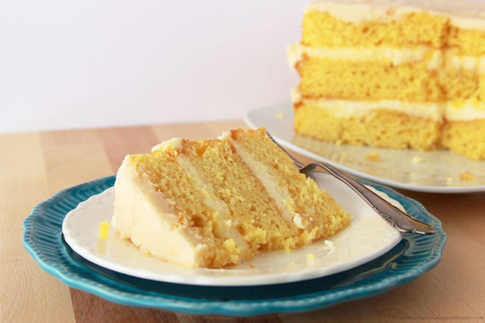 Jake's Triple Decker Cake by www.whatscookingwithruthie.com