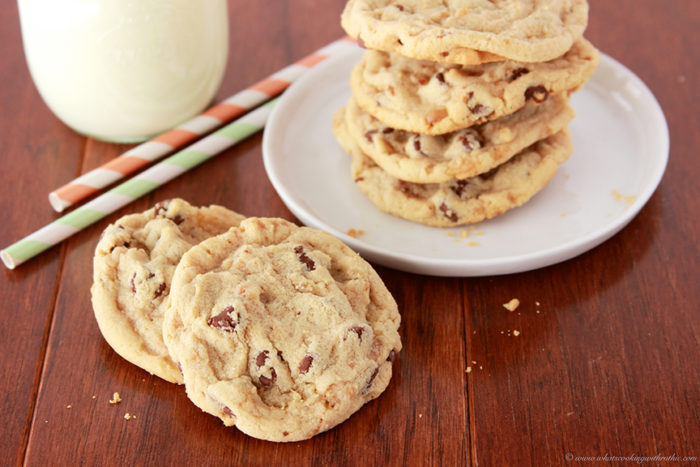 Toffee Chip Cookies by www.whatscookingwithruthie.com