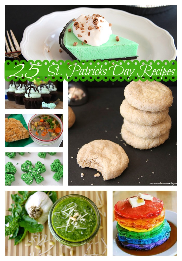 25 St. Patricks Day Recipes by www.whatscookingwithruthie.com