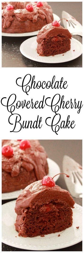Cherry Almond Bundt Cake Recipe