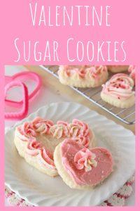 Valentine Sugar Cookies by www.whatscookingwihtruhtie.com